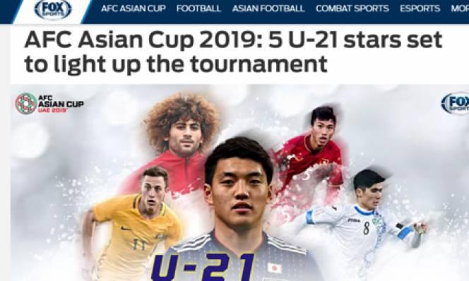 Văn Hậu lọt vào Top 5 sao trẻ hứa hẹn ở Asian Cup 2019