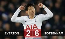 Everton 2-6 Tottenham: Tiệc bàn thắng tại Goodison Park