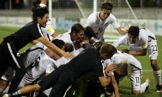 New Zealand so tài với Đức ở Confederations Cup 2017