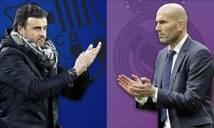 Trước thềm El Clasico: Enrique sắp phải cúi đầu trước Zidane?