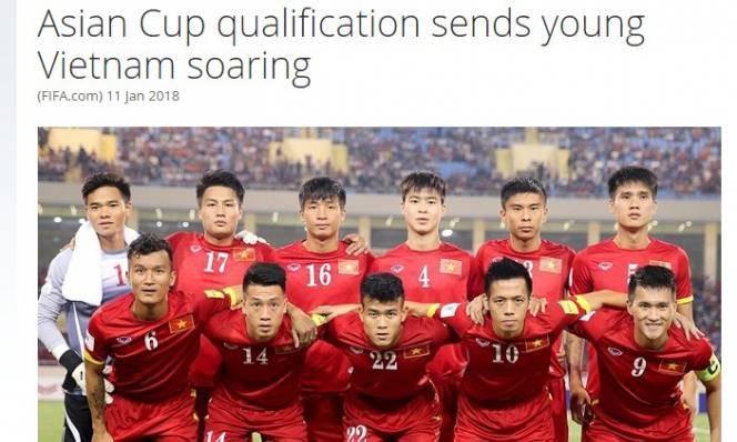 FIFA ngợi khen thăng tiến vượt bậc của bóng đá Việt Nam