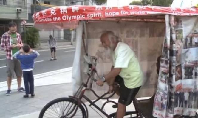 Tin nhanh Olympic 5/8: Nông dân TQ đạp xe 15 năm đến Brazil dự Olympic