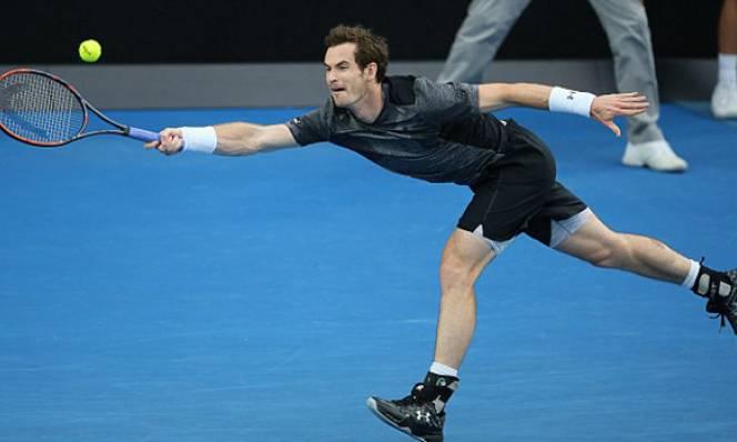 Bố vợ Andy Murray đột quỵ trên khán đài Australian Open 2016