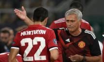 Mourinho bật đèn xanh, đại gia Serie A nhảy vào cuộc đua giành Mkhitaryan
