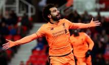 Không thể dừng ghi bàn, Salah tiếp tục lập nên kỳ tích 'độc dị'