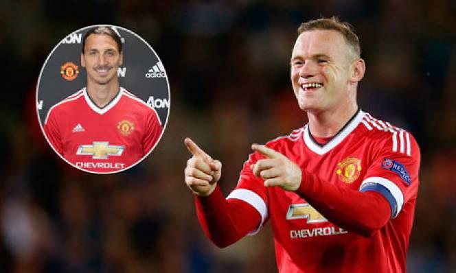 Rooney hào hứng được sánh vai cùng Ibra