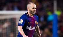 Chán Barca, Iniesta tìm đường dưỡng già tại Trung Quốc