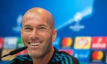 HLV Zidane báo tin cực vui cho các CĐV Real Madrid