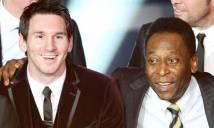 Dưới 30 tuổi, Messi đã sánh ngang với Pele