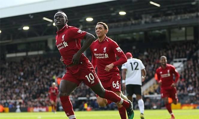 Fulham 1-2 Liverpool: Thắng nhọc Fulham, Liverpool vượt Man City lên đỉnh Premier League