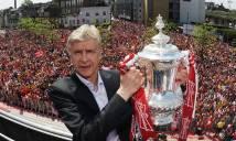 Sự nghiệp lừng lẫy HLV Wenger qua những con số