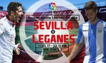 Sevilla vs Leganes, 22h15 ngày 11/3: Nhiệm vụ dễ dàng