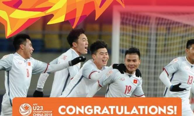 VFF thưởng nóng 'cực khủng' cho kỳ tích của U23 Việt Nam