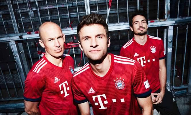 Bayern Munich ra mắt áo đấu mới cực đẹp