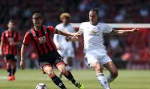 Nhận định M.U vs Bournemouth 03h00, 14/12 (Vòng 17 - Ngoại hạng Anh)