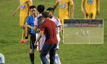 Trọng tài Hà Anh Chiến lên tiếng về quả penalty 'tưởng tượng'