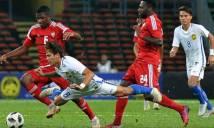 Cú sốc trước ASIAD: U23 Malaysia và U23 UAE choảng nhau dữ dội trên sân
