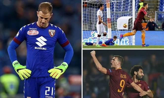 Hành hạ Joe Hart, Roma đòi lại vị trí từ tay của Napoli