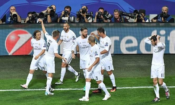 Chấm điểm Real- Atletico: Thành bại tại Ronaldo