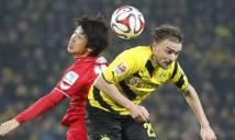 Trước vòng 14 Bundesliga: Tâm điểm hướng về vùng Ruhr