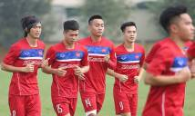 U22 Việt Nam dẫn đầu BXH các đội nhì bảng vòng loại châu Á
