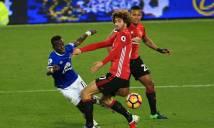 Fellaini hóa tội đồ khiến MU hòa tức tưởi Everton