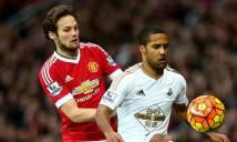 Nhận định Swansea vs MU 01h45, 25/10 (Vòng 1/8 - Cúp Liên Đoàn Anh)