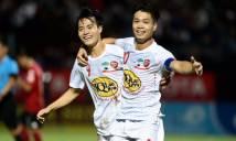 Vòng 7 V.League: Công Phượng tỏa sáng rực rỡ, HAGL tiếp cận Top 3