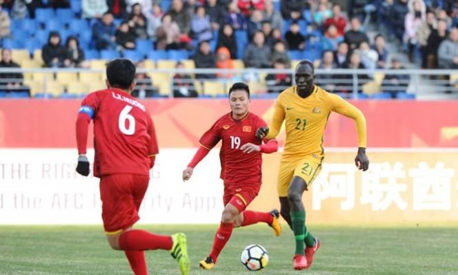 Kết quả U23 Việt Nam - U23 Australia: Địa chấn tại Côn Sơn