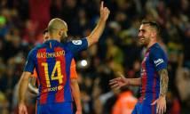 Thống kê thú vị sau bàn thắng đầu của Mascherano cho Barca