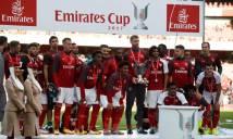 Arsenal vô địch Emirates Cup 2017 bằng 'lệ làng'