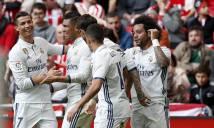 Ronaldo lập cú đúp kiến tạo, Real nhọc nhằn vượt ải Bilbao