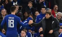 Vừa rời Arsenal, Giroud chỉ ra khác biệt giữa Conte và Wenger