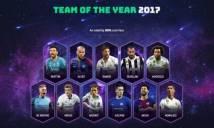 Đội hình hay nhất 2017 của UEFA: Ronaldo lập kỷ lục, vắng Neymar, Kane