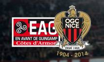 Guingamp vs Nice, 1h00 ngày 01/12: Ngôi đầu lung lay
