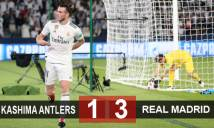 Kashima Antlers 1-3 Real Madrid: Hướng tới cú poker