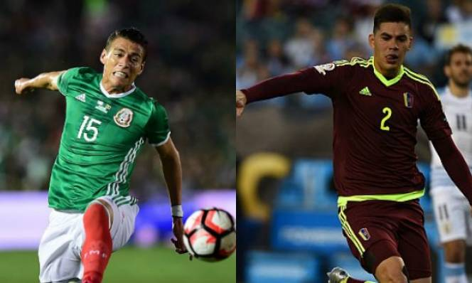 Mexico vs Venezuela, 07h00 ngày 14/6