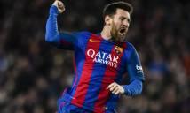 Messi lập kỷ lục siêu khủng trong chiến thắng của Barcelona trước Olympiakos
