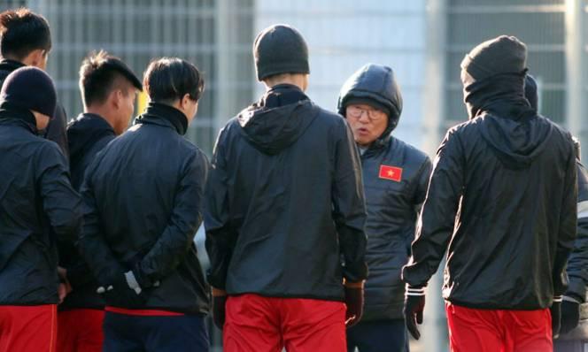 HLV Park Hang Seo ra tuyệt chiêu trước trận đấu với U23 Australia