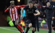 Liverpool nhận tin cực buồn sau trận hòa Sunderland