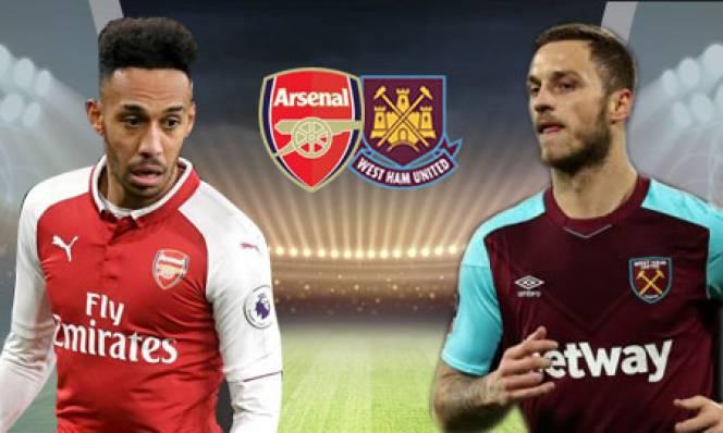 TRỰC TIẾP, link sopcast Arsenal vs West Ham, 19h30 ngày 22/4, vòng 35 Ngoại hạng Anh