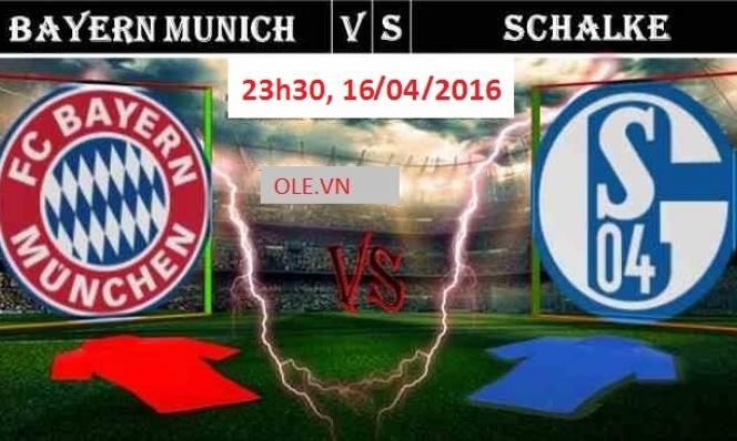 Bayern Munich vs Schalke, 23h30 ngày 16/04: Cẩn thận vẫn hơn