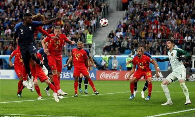 Thủ môn Courtois của ĐT Bỉ chỉ trích lối chơi tử thủ của Pháp
