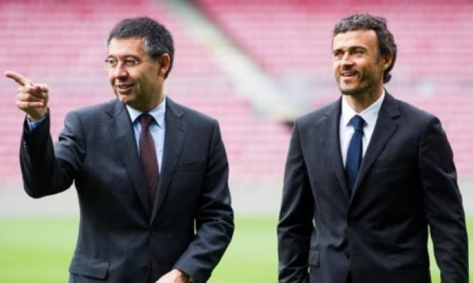 HLV Enrique nhận tối hậu thư từ Barca