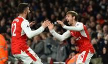 May mắn ghi bàn phút cuối, Arsenal vượt qua Leicester trong trận đấu bù vòng 28 NHA