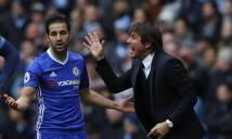 Lên tiếng khuyên bảo Hazard, Fabregas bị Conte 'dằn mặt'