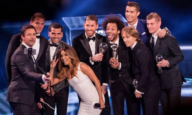 ĐHTB năm 2016 của FIFA: Real Madrid độc bá