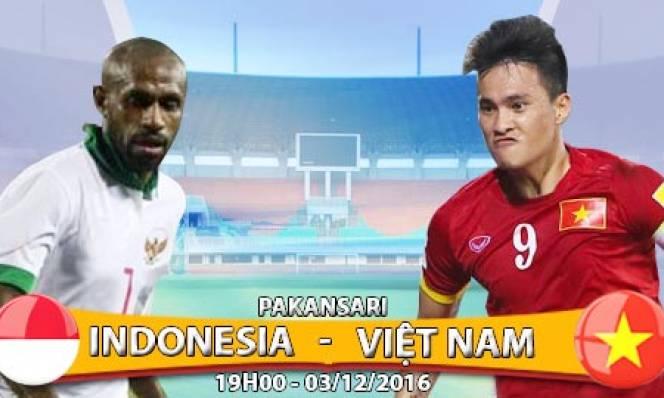 Indonesia vs ĐT Việt Nam, 19h00 ngày 3/12: Cơ hội vàng cho HLV Hữu Thắng
