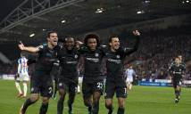 Ghi bàn đa phong cách, Chelsea đánh sập pháo đài Huddersfield
