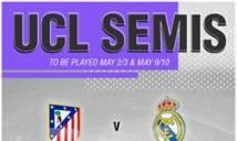 Điểm tin tối 21/04: Real tái đấu Atletico tại Champions League, Việt Nam dễ thở tại vòng loại châu Á